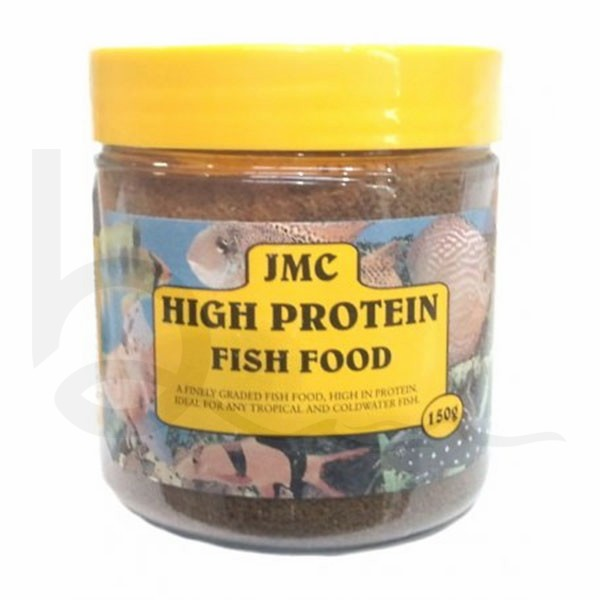 jmc high protein fish food 200g burscough aquatics