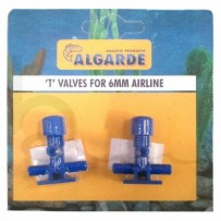 Algarde Tee Valve 6mm | Burscough Aquatics