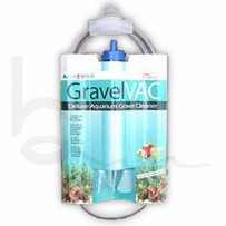 "Aqua Vitel 10"" Gravel Vac Super Aquarium Cleaner, Scraper & Siphon"