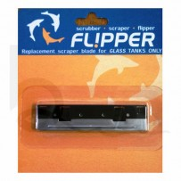 Flipper scraper - replacement blades for glass tanks only
