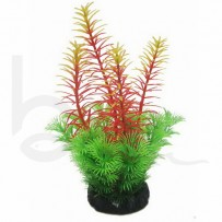 Echinodorus Tenellus Green/Purple 20cm Artificial Plant