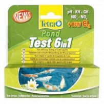 Tetra Pond Test Kit 6 in 1 | Burscough Aquatics