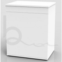 TMC Signature Aquarium Set 600 x 450 x 450mm with White Cabinet