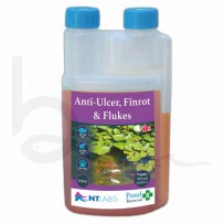 NT Labs Anti Ulcer, Finrot & Flukes 250ml