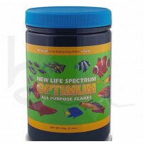 New Life Spectrum Optimum Flakes With Garlic 90g | Burscough Aquatics