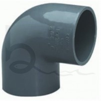 50mm 90 Degree PVC Elbow | Burscough Aquatics
